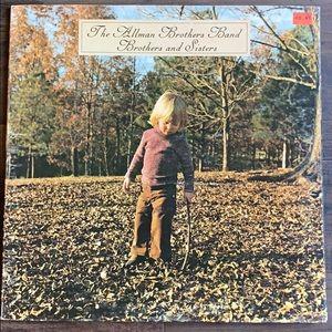 The Allman Brothers vinyl record